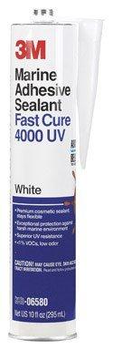 3m Marine Adhesive Sealant Uv Resistant 10 Oz White