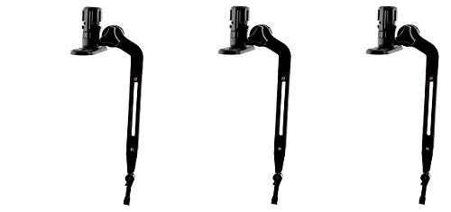 Scotty #141 Kayak/SUP Transducer Mounting Arm with Gear-Head (3-(Pack)) by Scotty
