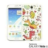 OnlineBestDigital - Cartoon Pattern Hard Back Case for Samsung Galaxy Note 2 - Cartoon Dinosaur Pattern