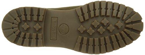 Timberland 6 Boot, Stivali Classici Uomo Verde (Dark Olive)