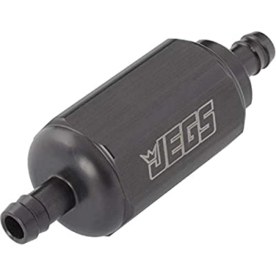JEGS 15040 Compact Billet In-Line Fuel Filter: Automotive