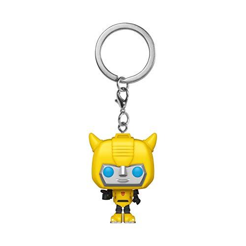 Funko- Pop Keychain Transformers-Bumblebee Figura Coleccionable, Multicolor (52155)