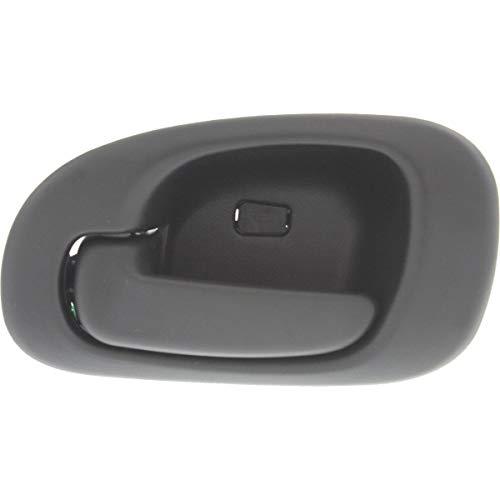 Interior Door Handle For 98-2004 Dodge Intrepid Rear, Driver Side Black Plastic