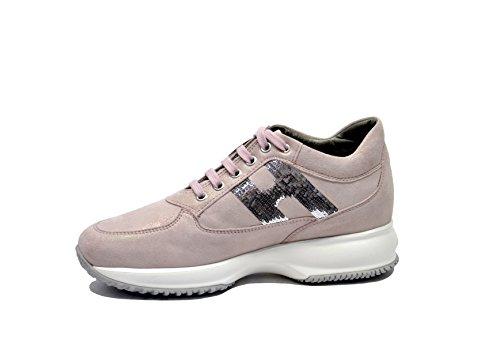 Hogan Sneakers Donna HXW00N056407V0M027 Pelle Rosa