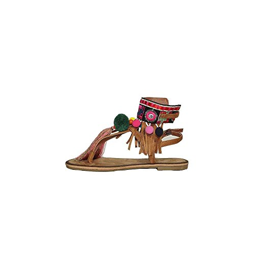 Buonarotti Sandalia Pompones 1JJ-17210 Camel