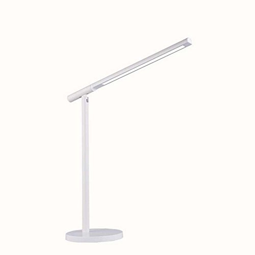 GJX LED Desk Lamp Touch-Sensitive Table Lamp Eye-Care Dimmable Reading Light 3 Color Modes 6W Gooseneck Folding Energy Saving Table Lamp for Office, Home, Reading, Study, Work by GJX