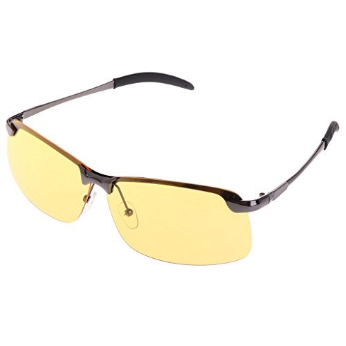 Color Oscuro Pesca Oscuro Gris Gafas Ciclismo Lamdoo Nocturna Libre de Gris para visión conducción Gris UV400 protección Oscuro al Aire XnOqHRw