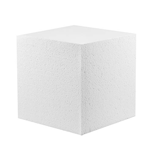Styrofoam Cubes - MT Products Hard Foam Blocks (4