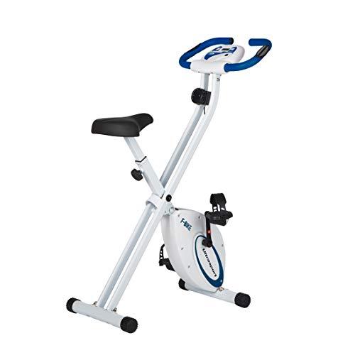 Ultrasport F-Bike, fietstrainer, hometrainer, fitnessfiets, opvouwbare fitnessfiets met trainingscomputer en…