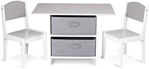 Amazon.com: Milliard - Juego de mesa y silla de madera para ...