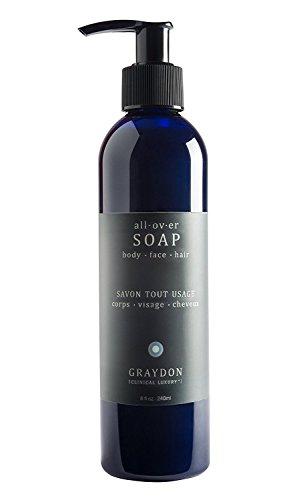Graydon [Clinical Luxury] - All Natural All Over Soap + Shampoo (Multi-Purpose Wash)