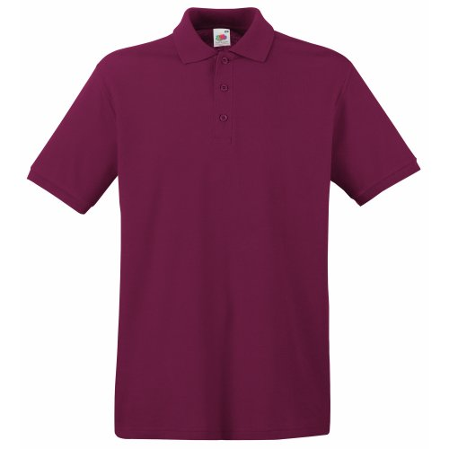 Fruit of the Loom Camisa de Corto SleevePolo para Hombre: Amazon ...