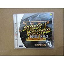 STREET FIGHTER III 3 DOUBLE IMPACT GAME CAPCOM SEGA DREAMCAST RARE