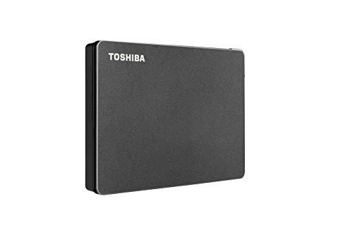 Toshiba Canvio Gaming 2TB Portable External Hard Drive USB 3.0, Black for Playstation, Xbox, PC, & Mac - HDTX120XK3AA