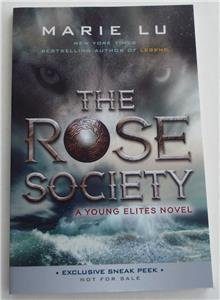 Książki antykwaryczne The Rose Society SNEAK PEAK  Uncorrected Proof Chapter Sampler SIGNED Marie Lu