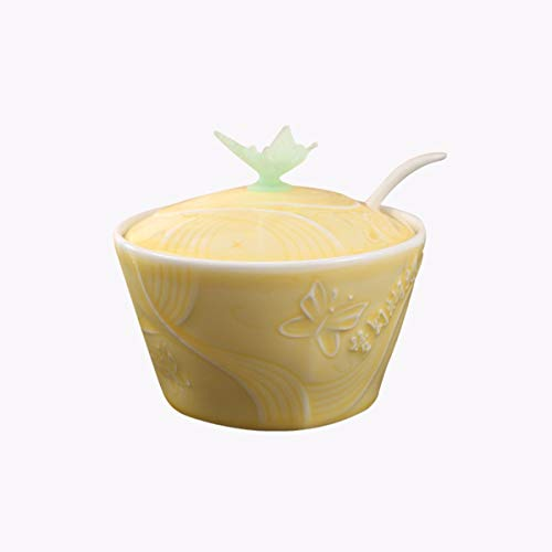 QPGGP-cruet Condimento de cerámica olla cocina electrodomesticos hogar combinación condimento condimento Box Set,Un