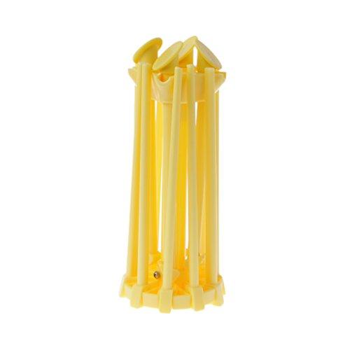 Seaskyer Pasta Drying Rack 10 Bar Collapsible Household Nood