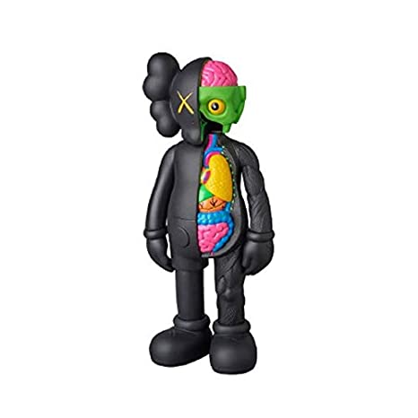 619256f7 Amazon.com: Margoth Prototype Kaws Original fake Dissected Companion Model Art  Toys Action Figure Collectible Model Toy 8