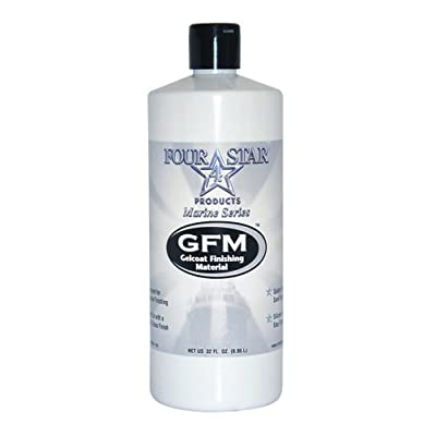 Four Star FS-GFM32 Professional Marine Series Gelcoat Finishing Material - 32 oz.: Automotive