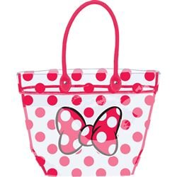 Disney Womens Minnie Mouse Shoulder Large Clear Beach Bag ...