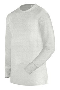 Duofold Men's Midweight Thermal Crew, White, (Duofold Long Sleeve Long Underwear)