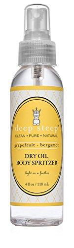 Deep Steep Dry Oil Body Spritzer, Grapefruit Bergamot, 4 - Body Oil Spritzer Dry