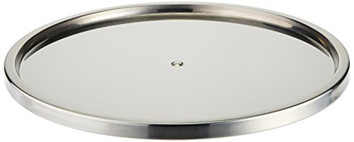 Dial Industries Lazy Susan Stainless Steel Turntable Organizer, Single Tier by Dial Industries