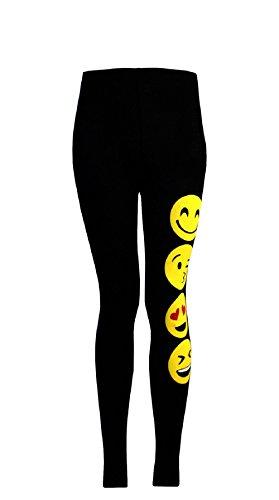 Envejecido corta 7 Camisetas 13 os os leggings leggings Ni Sonrientes 11 de Negro para manga Camisetas A Emoji 9 Noticias as Caras os ni Emoticonos peque awPx8U