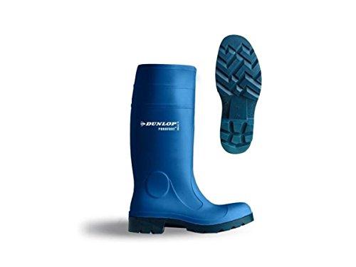 Stahlkappe blau Purofort Dunlop mit Metzgerstiefel Arbeitsstiefel Gummistiefel wxC4qF4Y