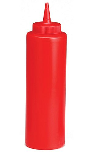 Tablecraft 12 Oz Ketchup Dispenser