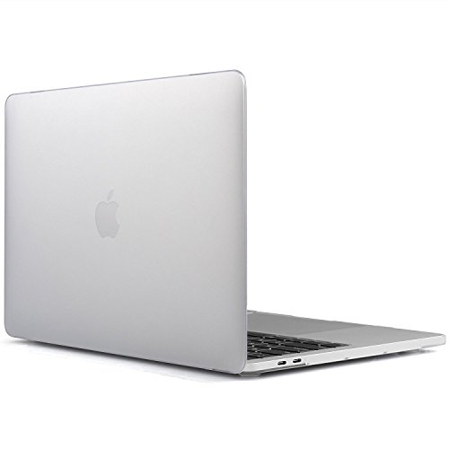 Faceplate Snap Case (Raidfox MacBook Pro 13 A1706 A1708 Plastic Hard Case Soft Touch Snap On Shell Protector Cover - LATEST 2016 Model Mac Pro 13.3 Inch - Frosted Matte Clear Transparent)