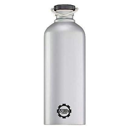 Amazon.com: Sigg Steelworks Plata Botella 1,0 litro (33 onza ...