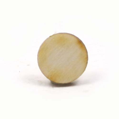 Laser Cut Circle (Mylittlewoodshop - Pkg of 50 - Circle Cutout - 1/2 inch by 1/2 inch and 1/8 inch thick unfinished wood(LC-CIRC01-50))