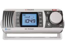GME GR300BTW HPower AM,FM Broadcast Radio with Bluetooth (White)