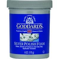 Goddards Silver Polisher - 170g/6 oz. Cleansing Foam with Sponge Applicator - Tarnish - Stores Independence Mall At