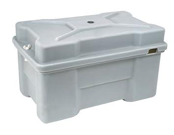 Moeller Roto Molded Marine Battery Box (One 8D Battery, 24.56u0026quot; X  14.75u0026quot