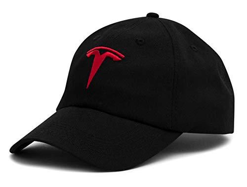 JSAMZ Tesla Car Logo Baseball Cap (Logo -
