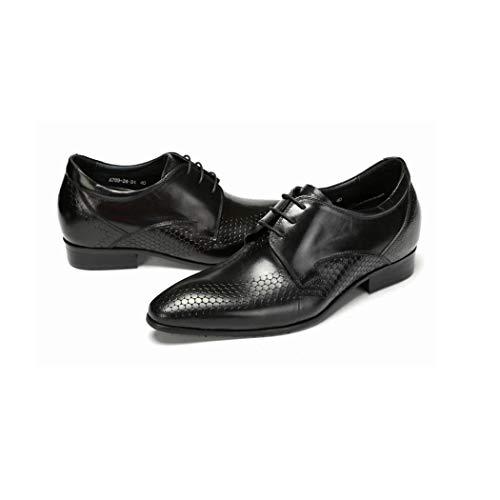 Résistantes Pour Mode Hommes Élégante Chaussures Automne Hommes À Et Basses En Habillées Printemps L'usure Ktyxgkl Cuir Noir Bottes aqv80Xwn