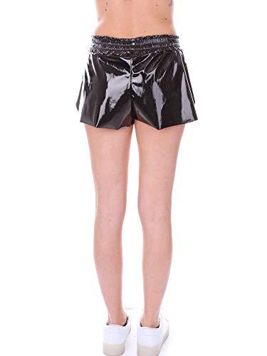 Mujer Negro Numero00 Shorts Cuero 2345black Charol De dqzTOExzR