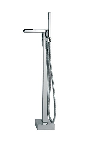 - Ove Decors INFINITY FAUCET Infinity Floor-Mounted Tub Faucet