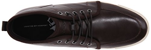 Rockport Mens Percorso Di Grandezza Mid Chukka Boot Dark Chocolate Amaro