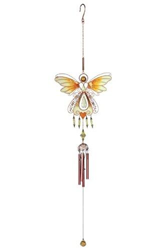 (Copper Angel Cross Wind Chime, 40