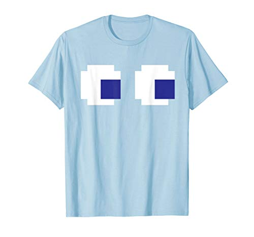 Funny Easy Ghost Eyes Video Game Cosplay Costume -