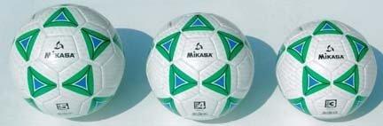 サイズ5スーパーソフトサッカーボールからミカサ( Set of 4 )   B0068R5BS0