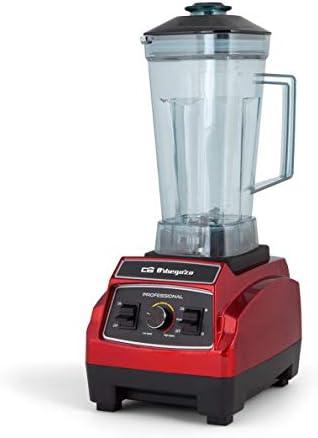 Orbegozo BV 9600 - Batidora de vaso profesional, capacidad 2,2 litros, libre de BPA, regulador de potencia y función turbo, apta para alimentos sólidos y líquidos: Orbegozo: Amazon.es: Hogar