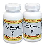 K9 Omega Fish Oil Supplement for Dogs- 120 Softgel Capsules / K9 Omega supplément d'huile de poisson pour les chiens - 120 gélules