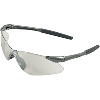 jackson 3013537 kc 29111 nemesis safety glasses gun metal frame clear anti fog lens