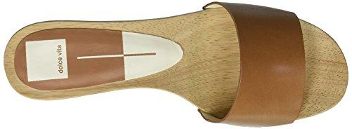 Dolce Vita Kvinnor Claire Glid Sandal Karamell Läder