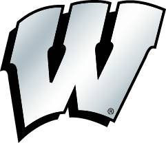 wisconsin badgers auto decal - 2