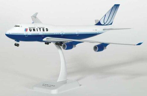 1/200 B747-400 ユナイテッド航空 新塗装 ダイキャスト完成品 3008